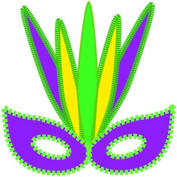 Mardi gras clip art 2