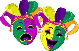 Mardi gras clip art vector graphics mardi gras clipart