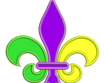 Mardi gras new orleans clipart