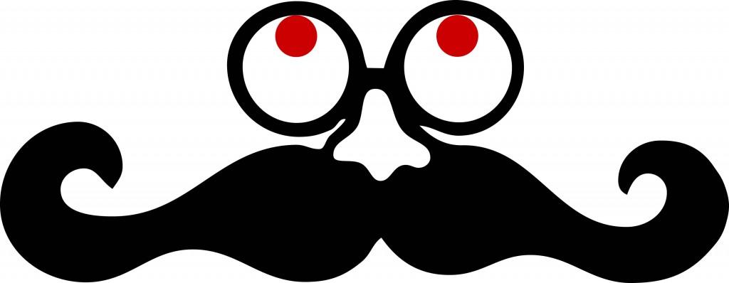 Mustache clip art 4