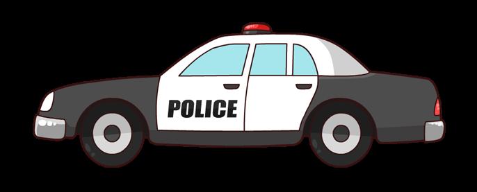 Police car clip art  2