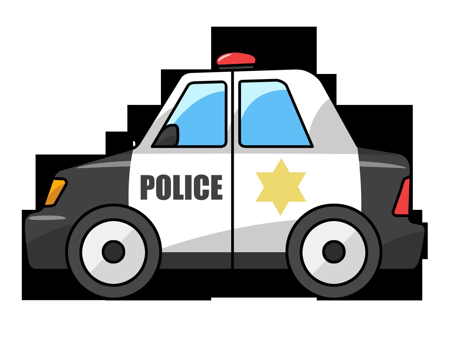 Police car clip art