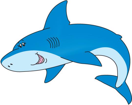 Shark clip art 3