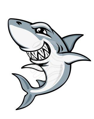 Shark clip art 9