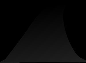 Shark clipart silhouette clipart