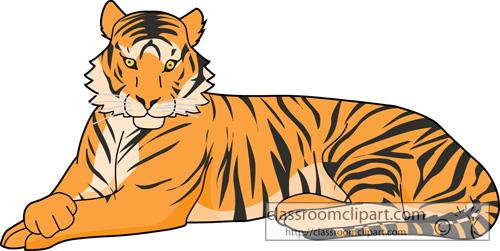 Tiger clipart bangal tiger crca classroom clipart