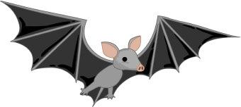 Bat free clip art