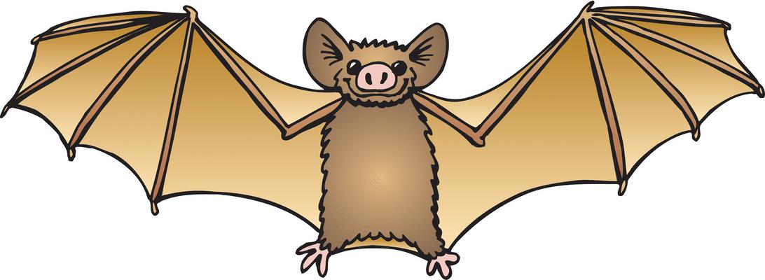 Bat lamp clip art
