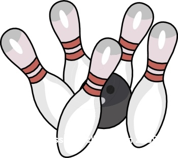 Bowling clip art free clipart