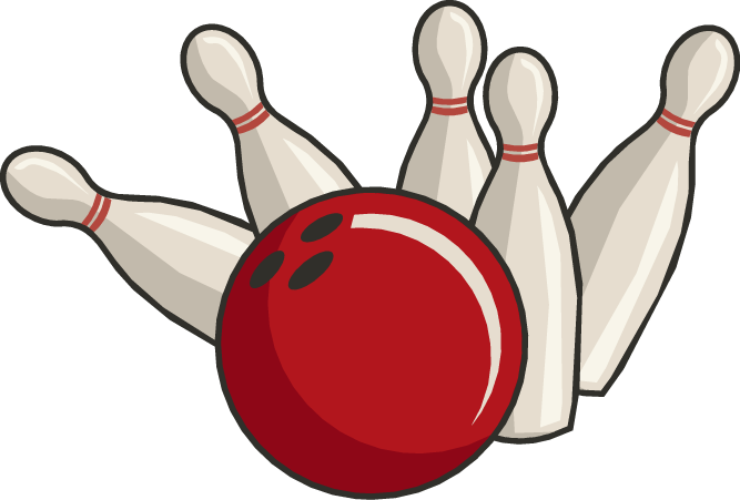 Bowling clipart 8