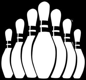 Bowling pins clip art at vector clip art online 2