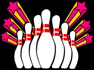 Bowling pins clip art at vector clip art online