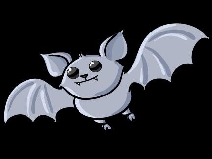 Friendly vampire bats clipart clipart