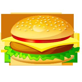Hamburger burger clipart free clipart