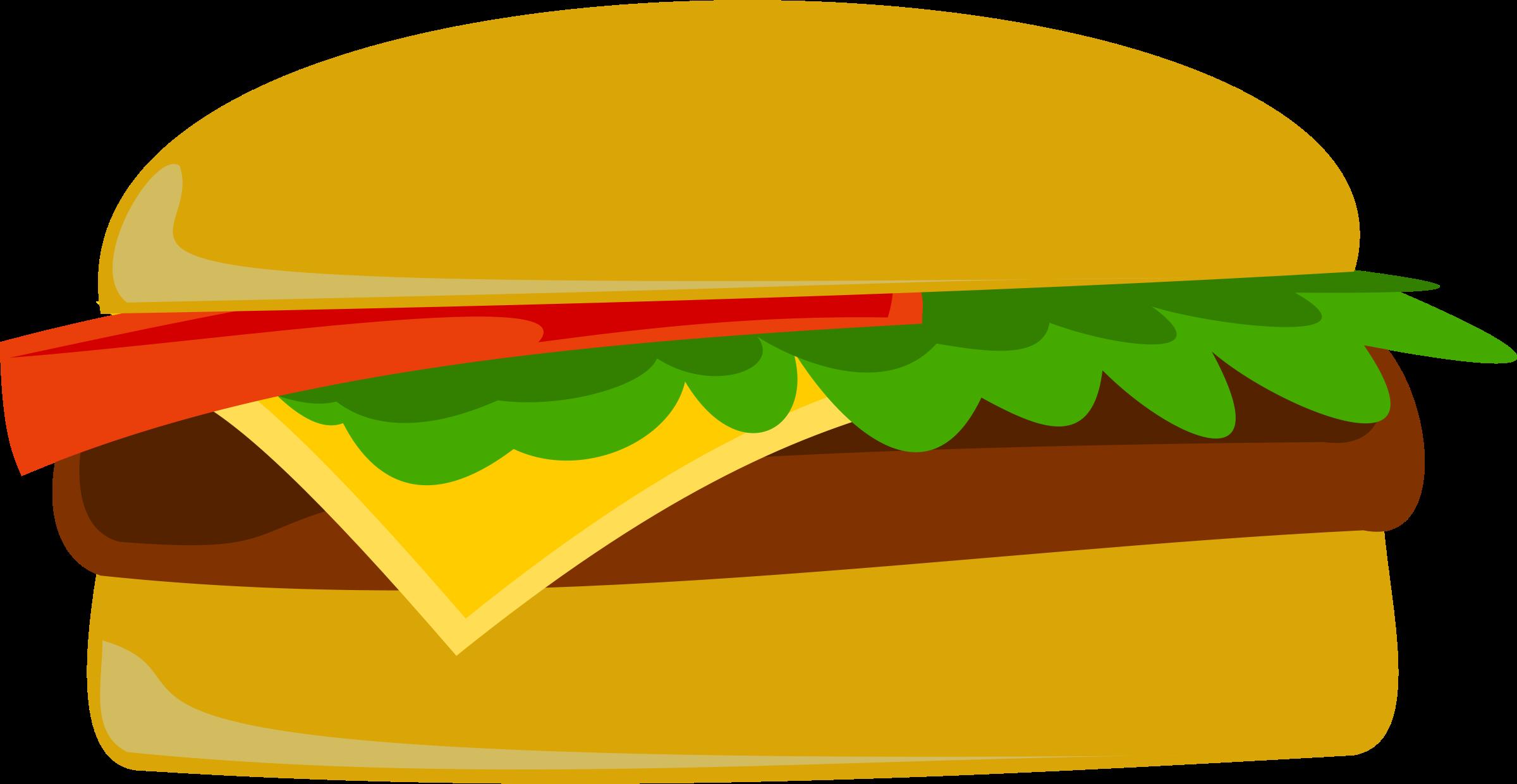Hamburger clip art  2