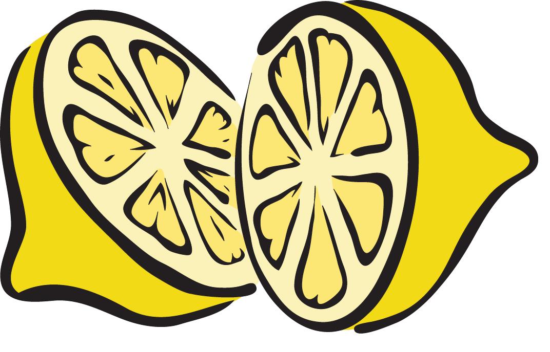 Lemon free roller skate clip art