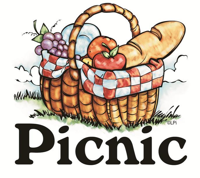 Picnic basket clip art 2
