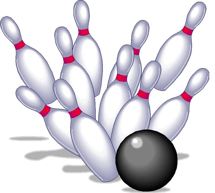 Pin bowling clipart