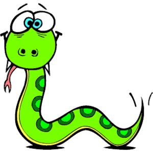 Snake clipart 3