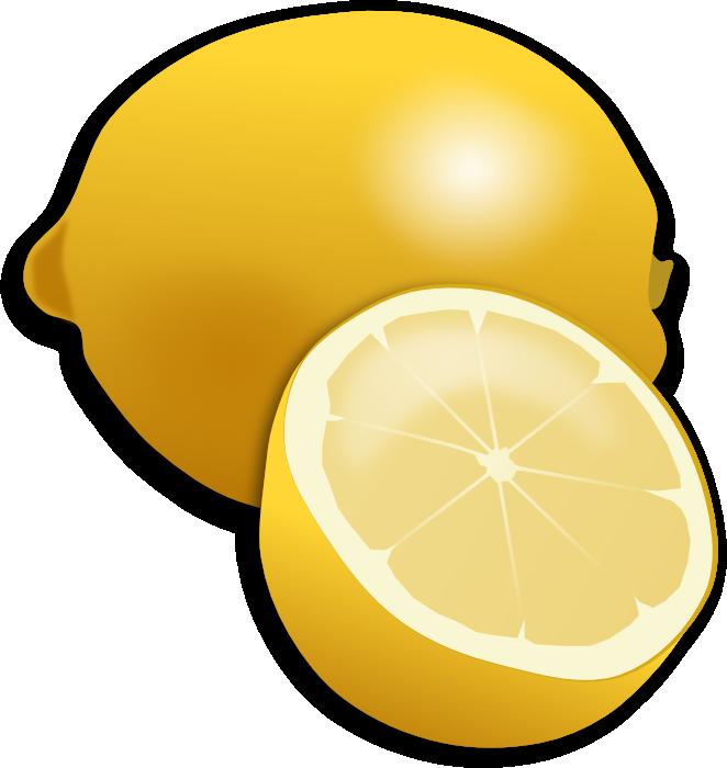 Strawberries lemons