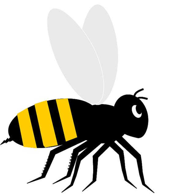 Bee clip art clipart