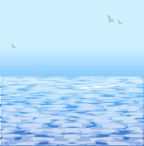 Clear ocean clip art at vector clip art online