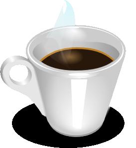 Espresso coffee clip art at vector clip art online