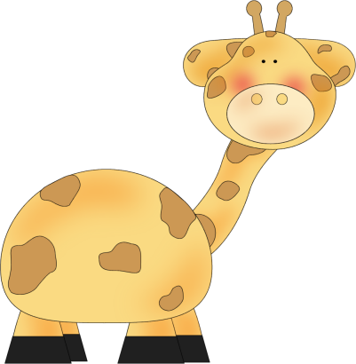Giraffe clip art giraffe image