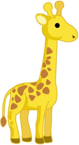Giraffe phoenix clipart