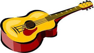 Guitar clipart clip art vector graphics guitar clipart