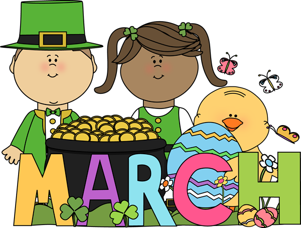 Month of march holidays clip art month of march holidays image