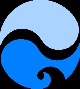 Ocean splash clip art at vector clip art online