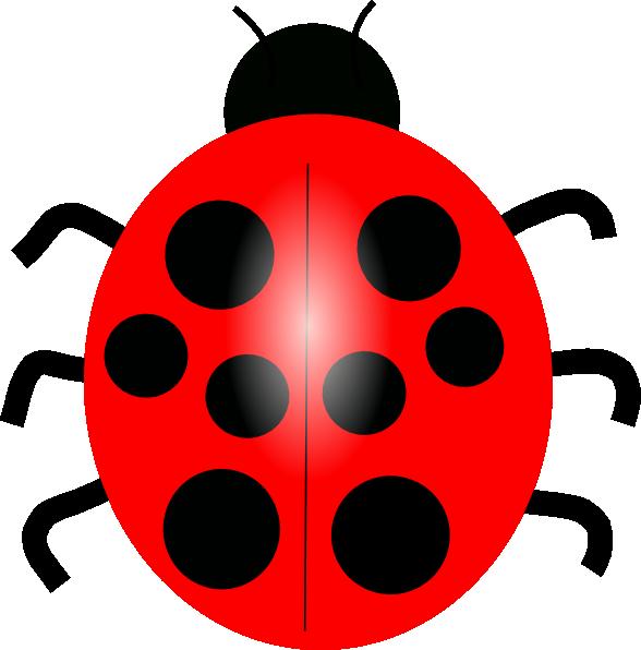 Red ladybug clip art at vector clip art online