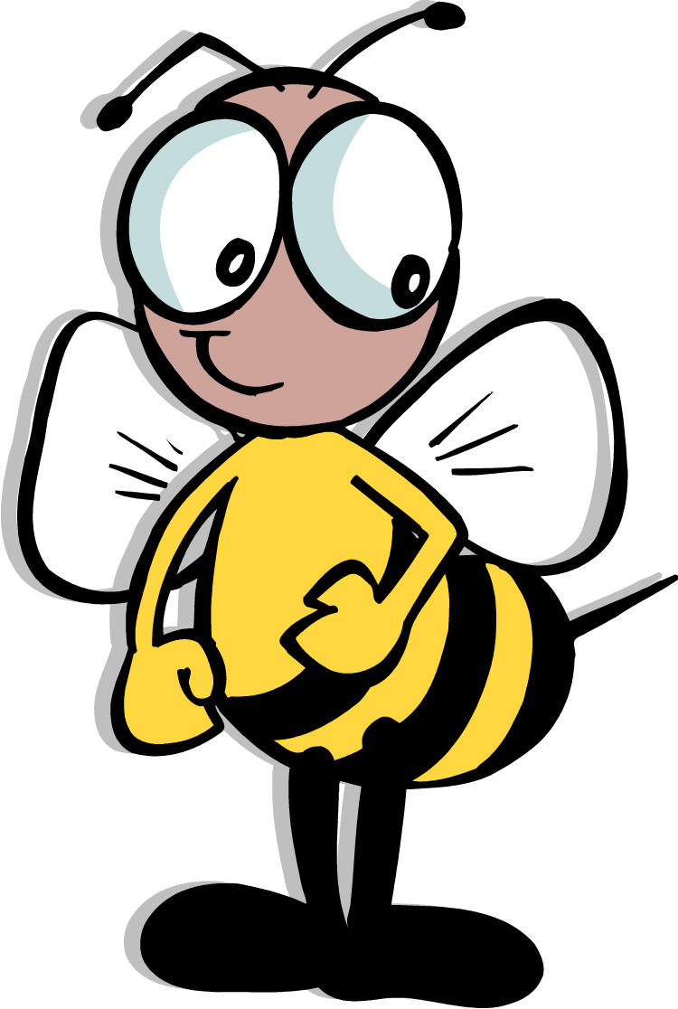 Spelling bee clip art 2