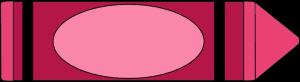 Big pink crayon clip art big pink crayon image