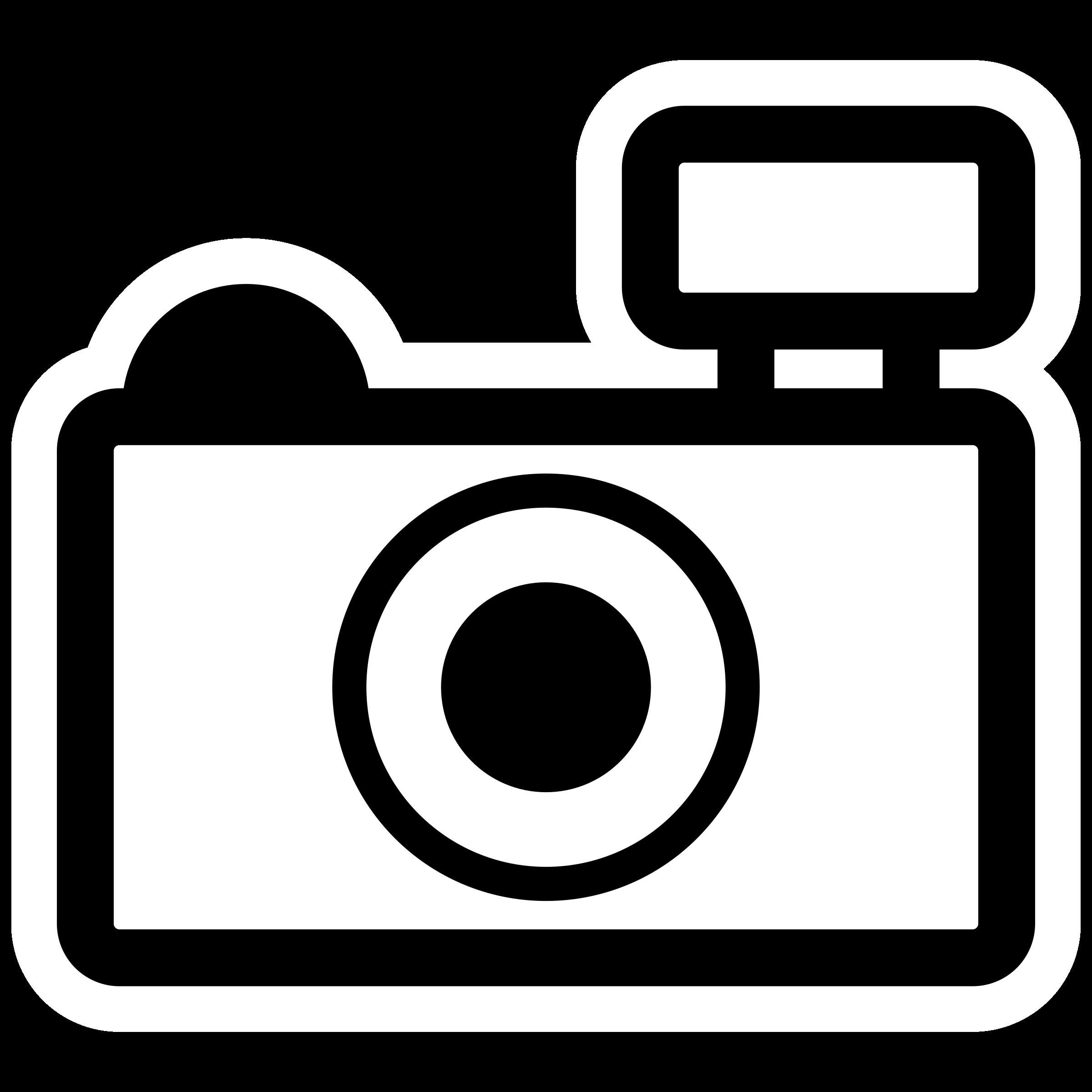 Clipart mono gtk camera