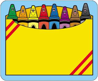 Crayon clip art 2