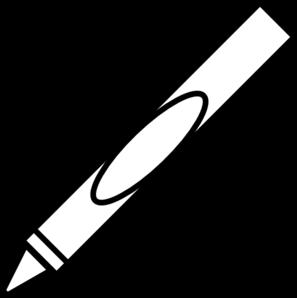 Crayon clip art at vector clip art online royalty