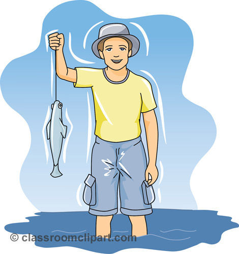 Free sports fishing clip art pictures graphics illustrations 2