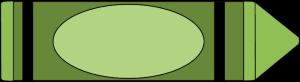 Green crayon clip art green crayon image