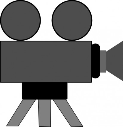 Movie camera clip art free vector in open office drawing svg 2