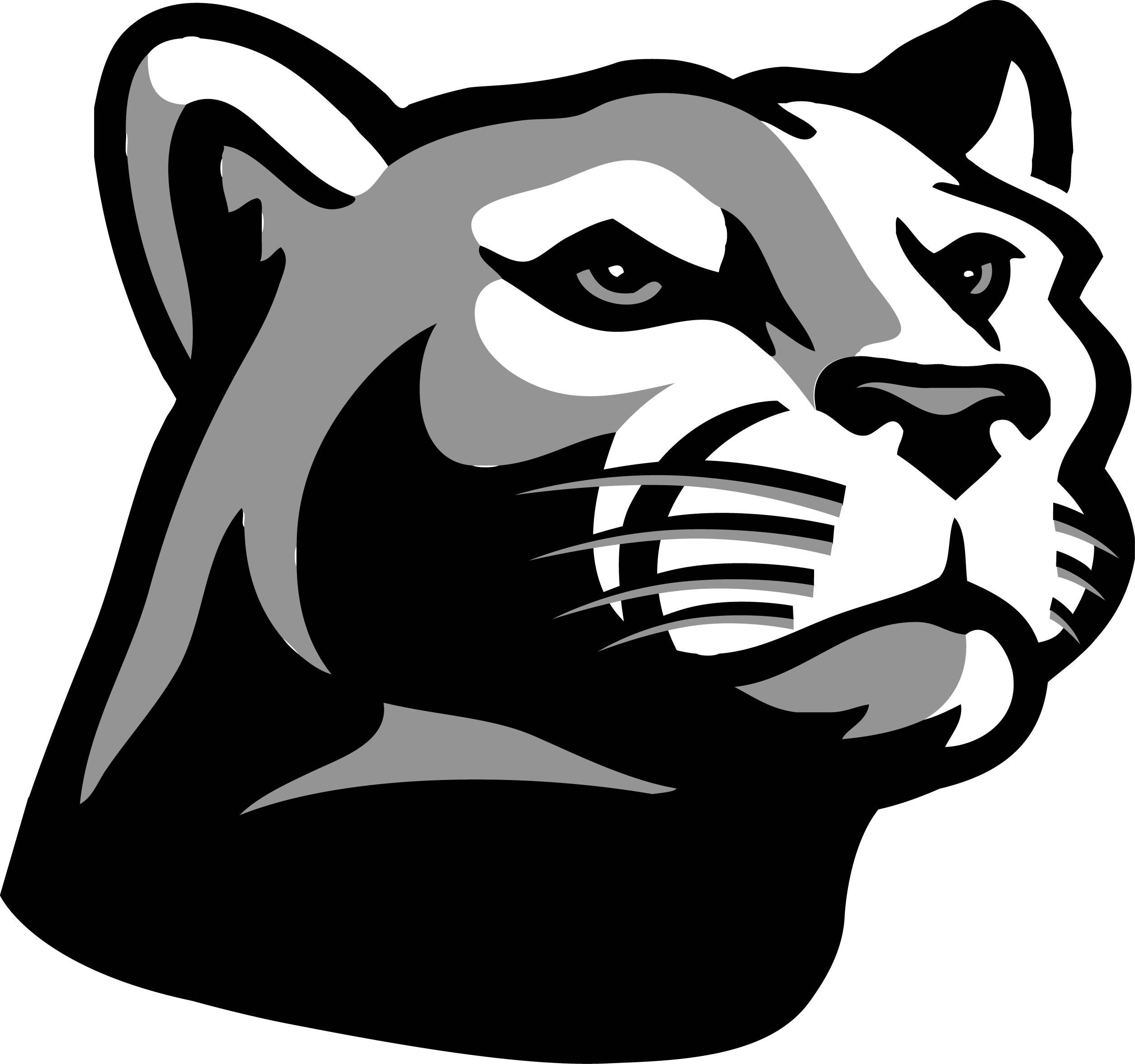 Panther menu clipart