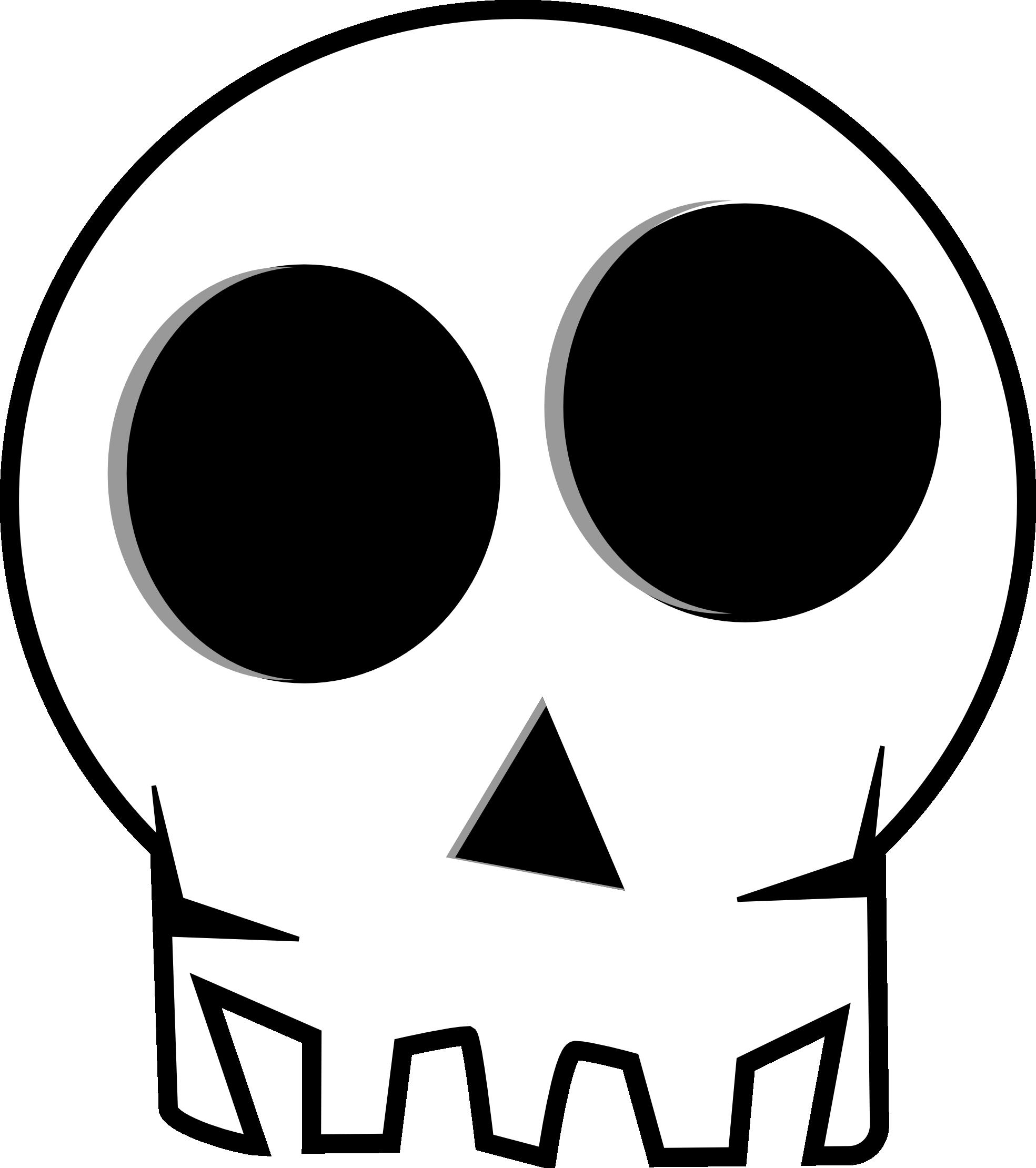 Skull clip art  2