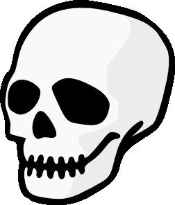 Skull clip art free clipart 2
