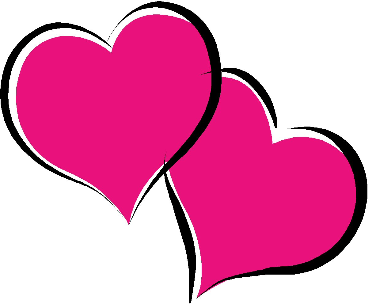 Valentines day 6 clip art crafts coloring pages printable cards