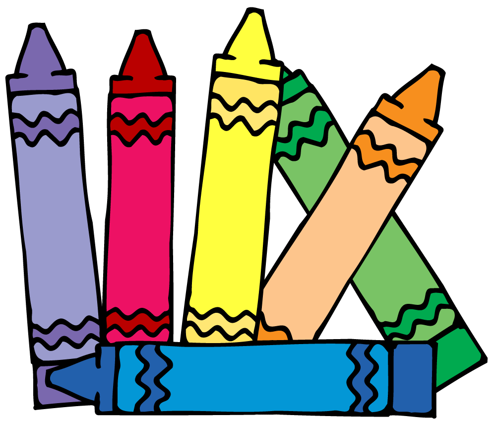 White crayon clip art free clipart images