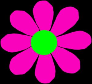 Colorful daisy clip art clipart