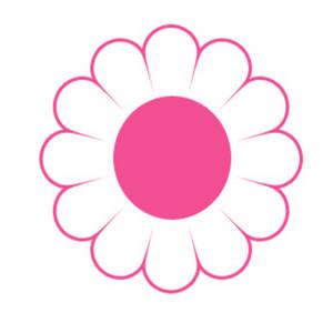 Cute daisy clipart