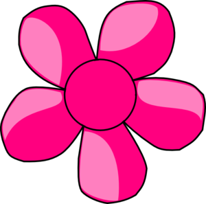 Blue daisy flower clipart free clip art images image #9108