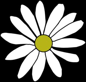 Simple daisy clip art vector clip art online royalty free